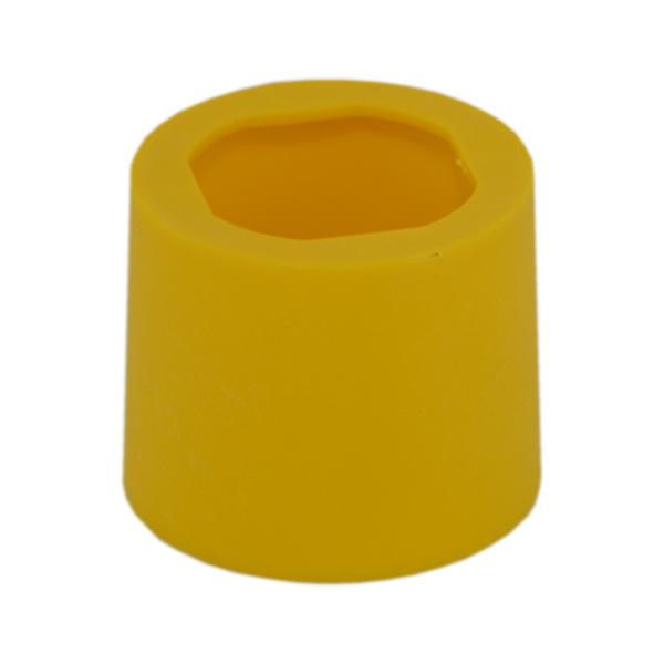 Osłona żółta zabezpieczająca przeciwko przypadkowemu załączeniu przycisku 22 mm