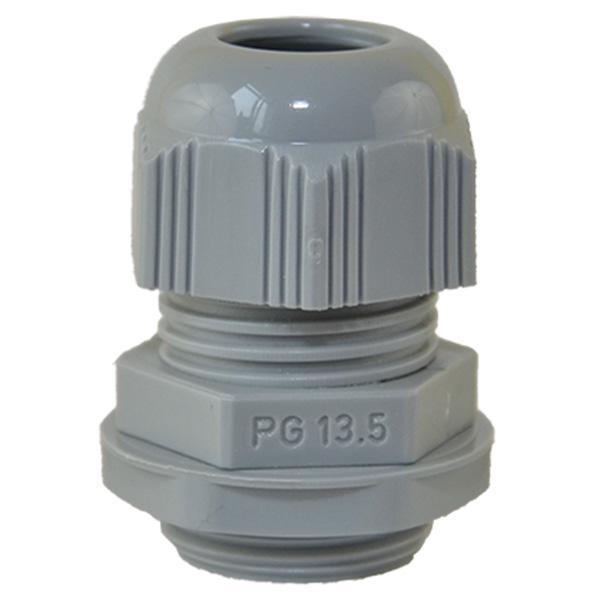 Dławnica PG13,5 poliamidowa IP68 (RAL 7001)