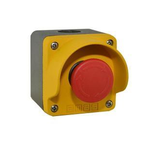 Awaryjny przycisk sterowania w obudowie metalowej (1NC)