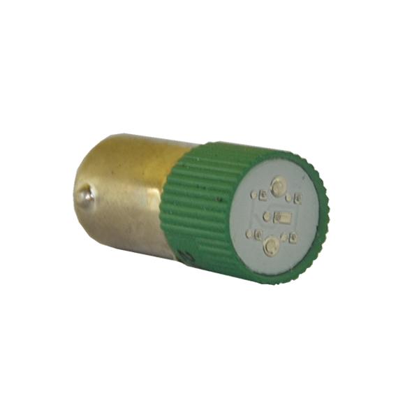Dioda Ba9S 220V, zielona