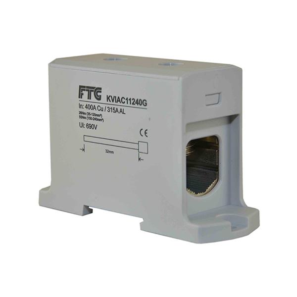 Blok rozdzielczy 35 - 240 mm2 szary